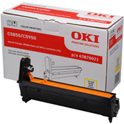 Oki Yellow Image Drum Unit, 20K Yield