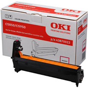 Oki Magenta Image Drum Unit, 20K Yield