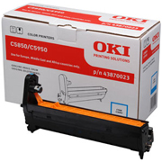 Oki Cyan Image Drum Unit, 20K Yield