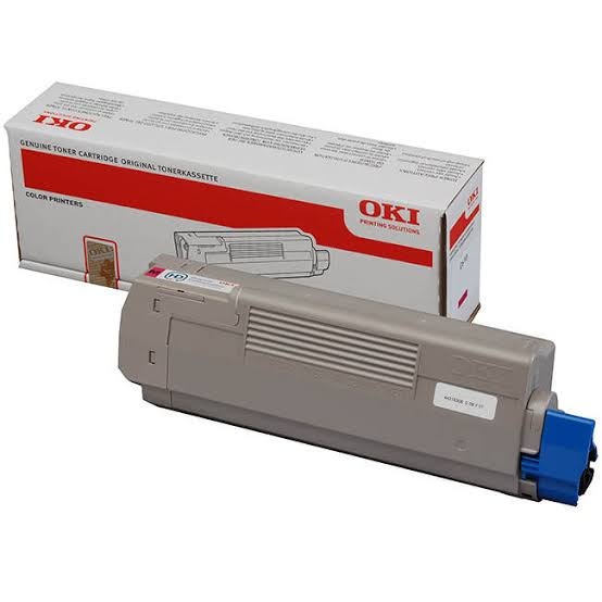 Oki Magenta Laser Toner Cartridge, 6K Yield