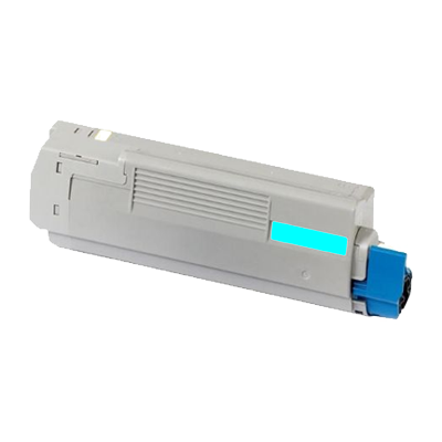 Eco Compatible Toner Cartridges for Oki (Cyan) 44315307