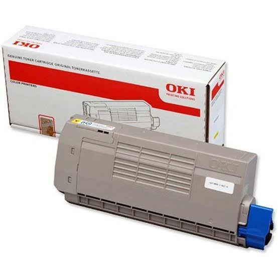 Oki Yellow Laser Toner Cartridge, 11.5K Yield