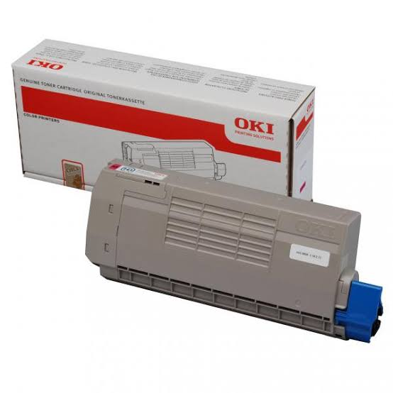 Oki Magenta Laser Toner Cartridge, 11.5K Yield