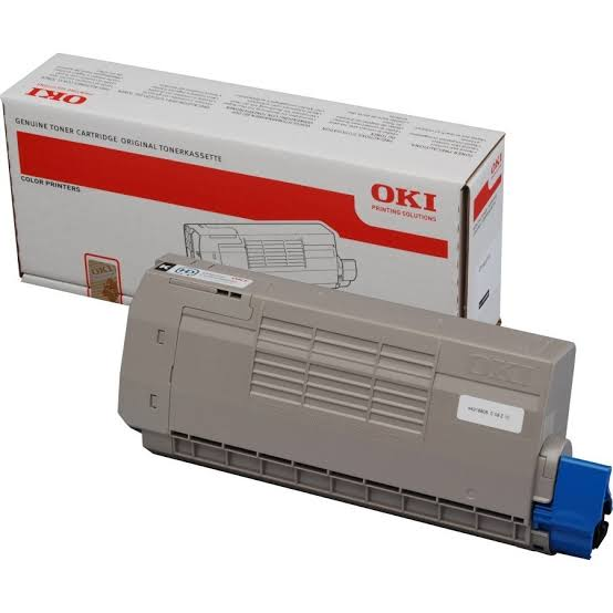 Oki Black Laser Toner Cartridge, 11K Yield