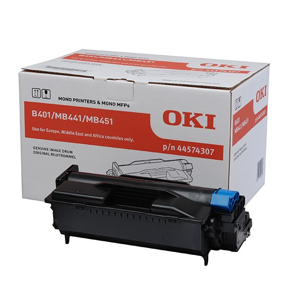 Oki 44574307 Image Drum Unit, 25K Page Yield