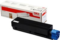 Oki Black Laser Toner Cartridge, 3K Page Yield