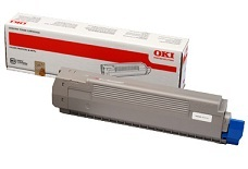 Oki Black Laser Toner Cartridge, 7K Page Yield