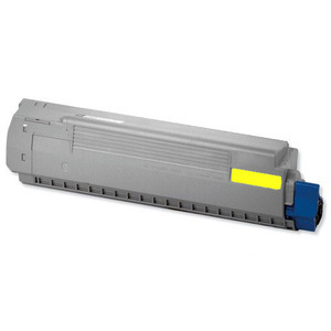 Oki 44844505 Yellow Toner Cartridge, 10K Page Yield