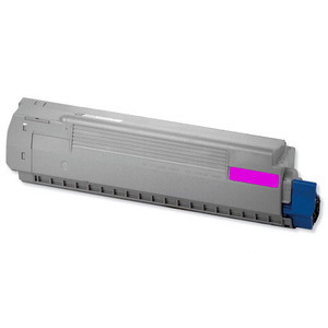 Oki 44844505 Magenta Toner Cartridge, 10K Page Yield