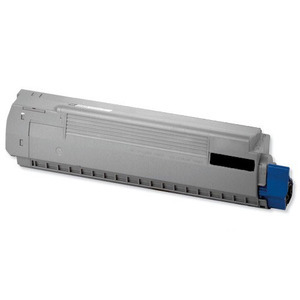 Oki 44844505 Black Toner Cartridge, 10K Page Yield