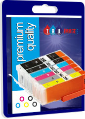 Premium Quality PGI 550XLBK and CLI-551XL GY/BK/C/M/Y Compatible Ink Cartridges, 83ml