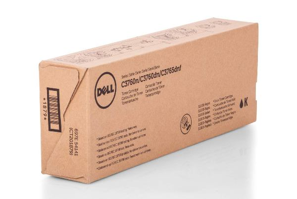Dell 593-11119 Extra High Capacity Black Toner Cartridge - 4CHT7, 11K Page Yield
