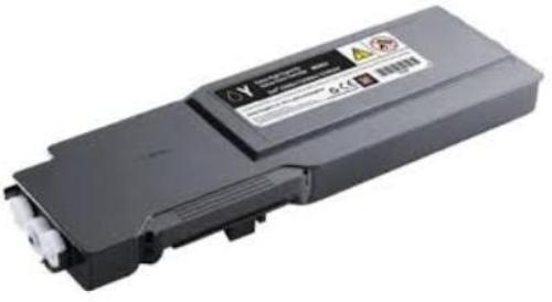 Dell 593-11120 Extra High Capacity Yellow Toner Cartridge - F8N91, 9K Page Yield