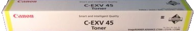 Canon C-EXV45 Yellow Toner Cartridge (CEXV45) - 6948B002AA