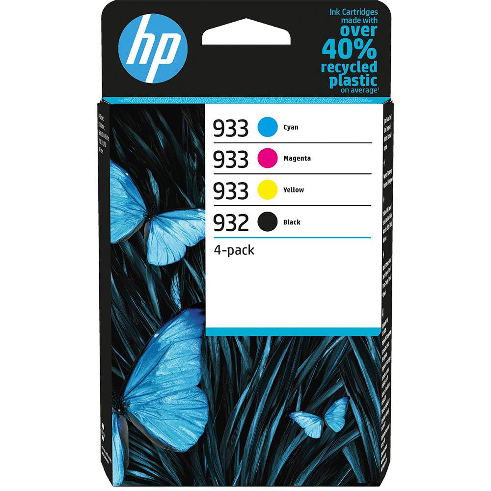 HP 932/933 Standard Capacity Ink Cartridge Multipack - 6ZC71AE