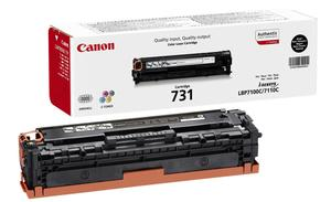 Canon 731BK Black Toner Cartridge - 6272B002 - 1.4K Page Yield