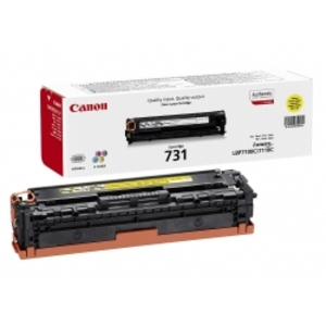 Canon 731Y Yellow Toner Cartridge - 6269B002 - 1.5K Page Yield