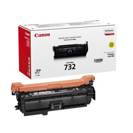 Canon 732Y Yellow Toner Cartridge - 6260B002 - 6.4K Page Yield