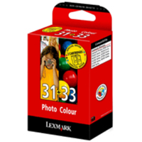 Lexmark Low Capacity Colour No 33 & Photo No 31 Ink Cartridges