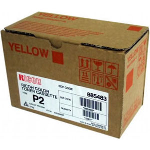 Ricoh Type P2 Yellow Toner Cartridge 885483