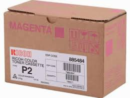 Ricoh Type P2 Magenta Toner Cartridge 885484