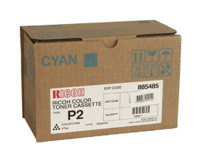 Ricoh Type P2 Cyan Toner Cartridge 885483