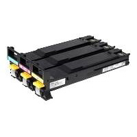 Konica Minolta High Capacity Cyan, Magenta, Yellow Toner Cartridge, 4K Page Yield Each
