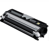 Konica Minolta High Capacity Black Toner Cartridge, 2.5K Page Yield