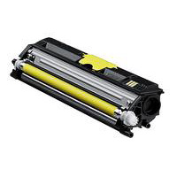 Konica Minolta High Capacity Yellow Toner Cartridge, 2.5K Page Yield