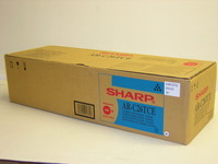 Sharp AR-C26TCE Cyan Laser Toner Cartridge, 11K Yield