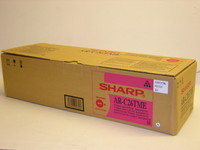Sharp AR-C26TME Magenta Laser Toner Cartridge, 11K Yield