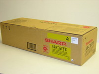Sharp AR-C26TYE Yellow Laser Toner Cartridge, 11K Yield