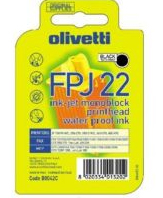 Olivetti FPJ-22 Black Printhead Pigment Ink Cartridge