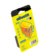 Olivetti FJ-31 Black Printhead Ink Cartridge, 15ml