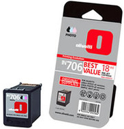 Olivetti IN 706 High Capacity Photo Colour Ink Cartridge, 18ml