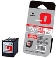 Olivetti IN 701 Standard Capacity Black Ink Cartridge, 11ml