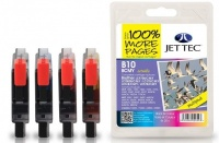 Jet Tec Quad Pack LC-1000 Black, Cyan, Magenta, Yellow Ink Cartridges