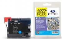 Jet Tec LC-970 / LC-1000 Cyan Ink Cartridge, 20ml