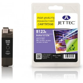 Jet Tec LC-123 Black Ink Cartridge