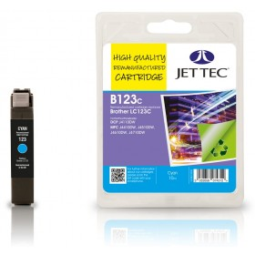 Jet Tec LC-123 Cyan Ink Cartridge