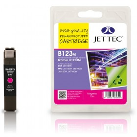 Jet Tec LC-123 Magenta Ink Cartridge