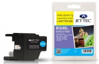 Jet Tec LC-1240 Cyan Ink Cartridge