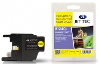 Jet Tec LC-1240 Yellow Ink Cartridge