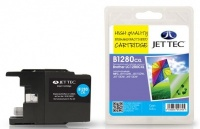 Jet Tec LC-1280 Cyan Ink Cartridge