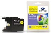 Jet Tec LC-1280 Yellow Ink Cartridge