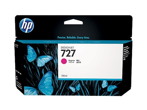 HP 727 High Capacity Magenta Ink Cartridge - B3P20A