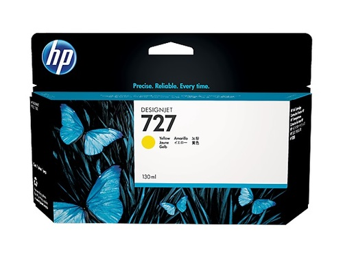 HP 727 High Capacity Yellow Ink Cartridge - B3P21A