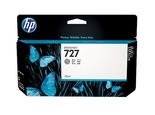 HP 727 High Capacity Grey Ink Cartridge - B3P24A