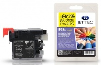 Jet Tec LC-980 / LC-1100 Black Ink Cartridge, 20ml