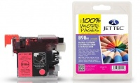 Jet Tec LC-980 / LC-1100 Magenta Ink Cartridge, 10ml